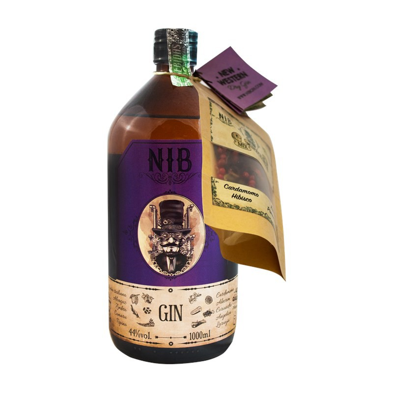Gin NIB + Especiarias 1000ML