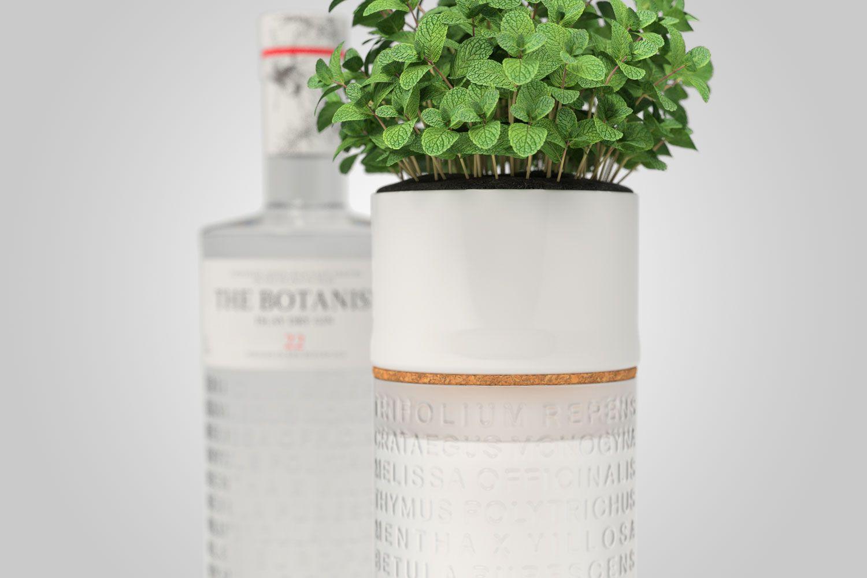 Kit Gin The Botanist 700ML (C/Vaso) - Edição Para Colecionadores