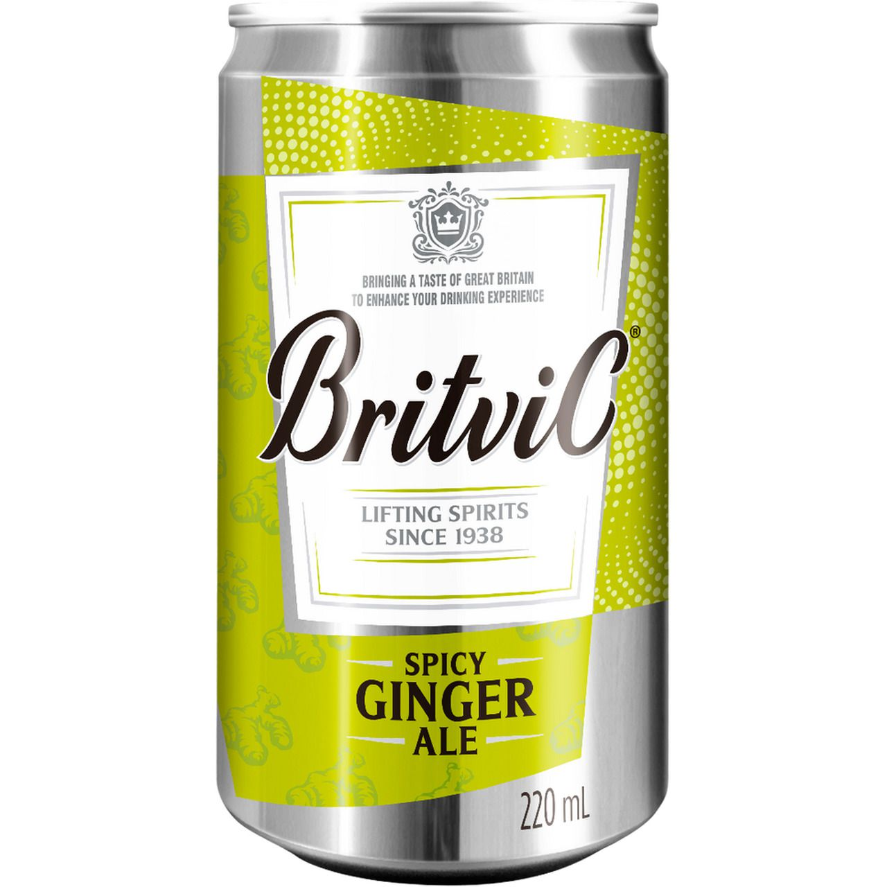 Spicy Ginger Ale 220ML by Britvic Co. 200ML