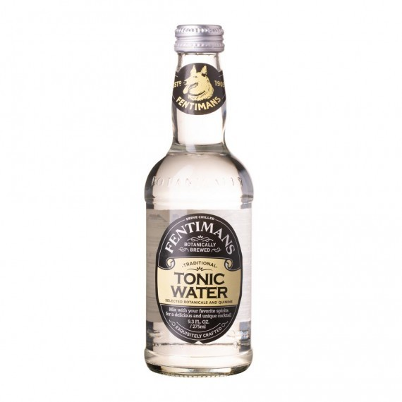Sunset Fresh Gin 750ML + 4 Fentimans Premium Tonic by London Essence