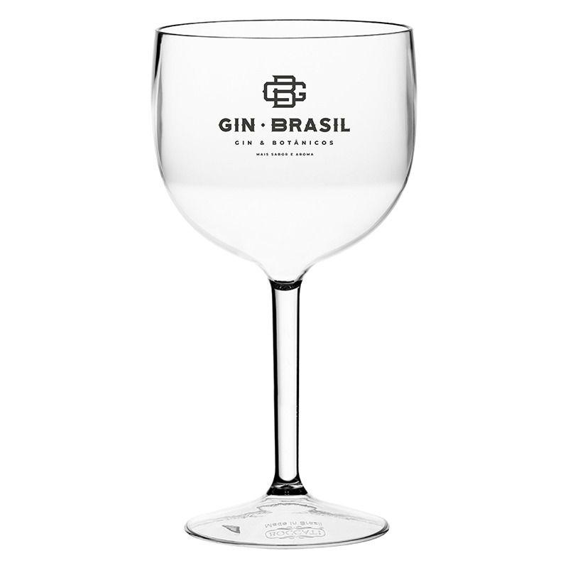 Taça Gin Acrílico Gin Brasil 560ML
