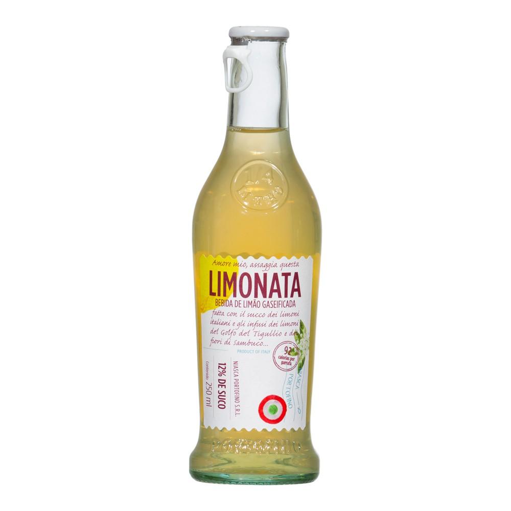 Tônica de Limão Gaseificada Portofino Limonata 250ML
