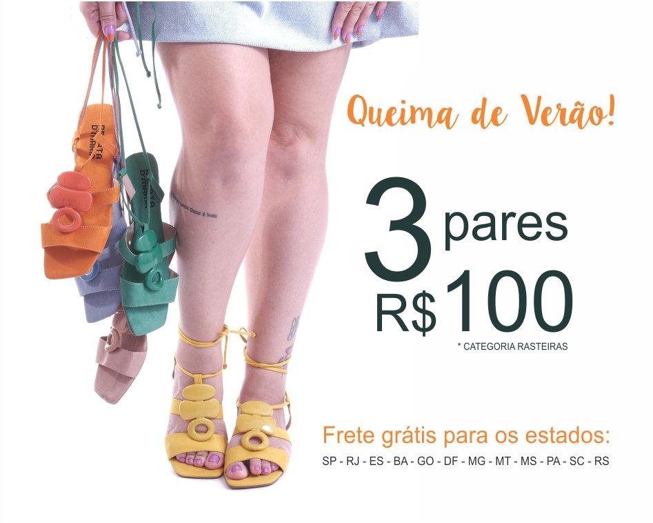 3 por R$100,00