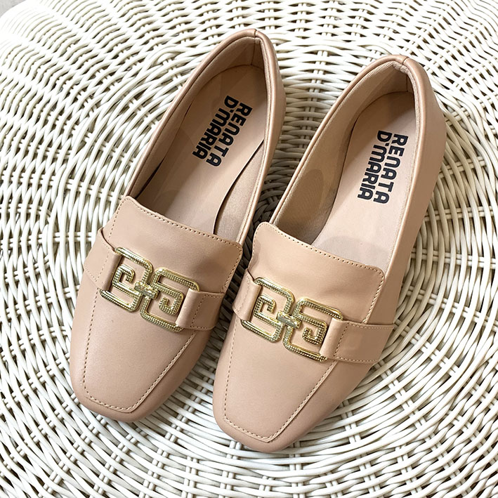 S151 Sapatilha Loafer ABS Nude
