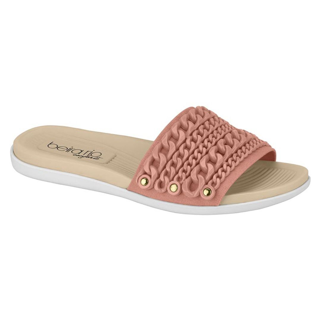Chinelo Slide Rosa by Beira Rio 8360.229
