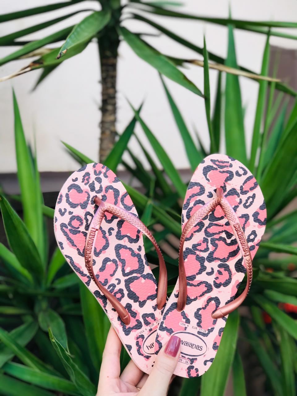 Chinelo Havaianas Slim Animals