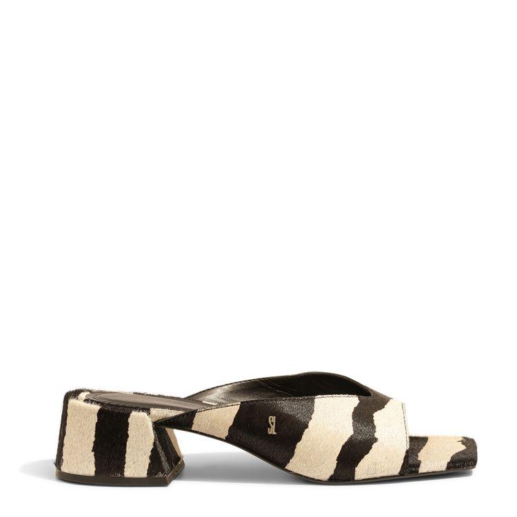 Mule Zebra Salto Bloco Santa Lolla  043f.2e94