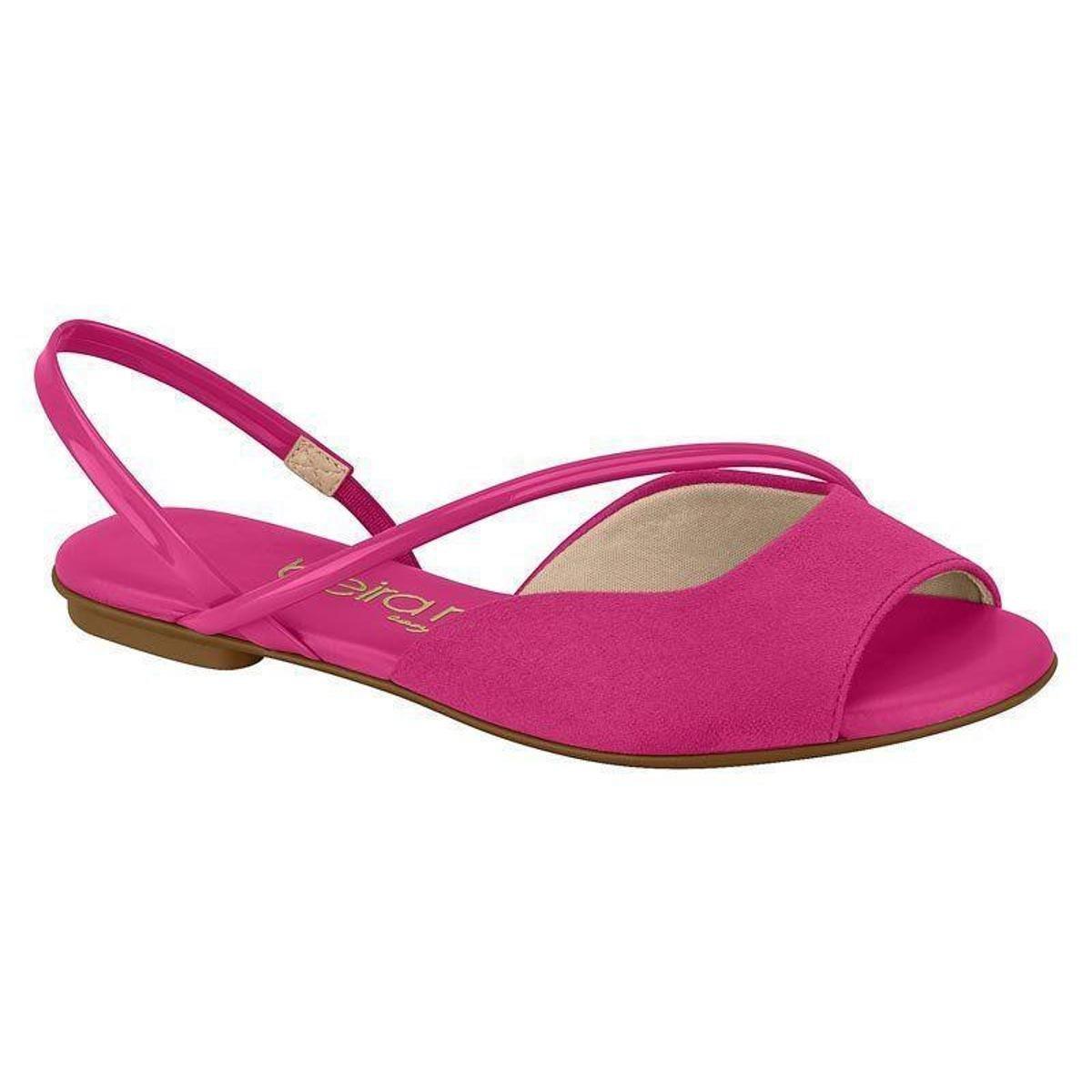 Rasteira Beira Rio Conforto Pink 8226.1075