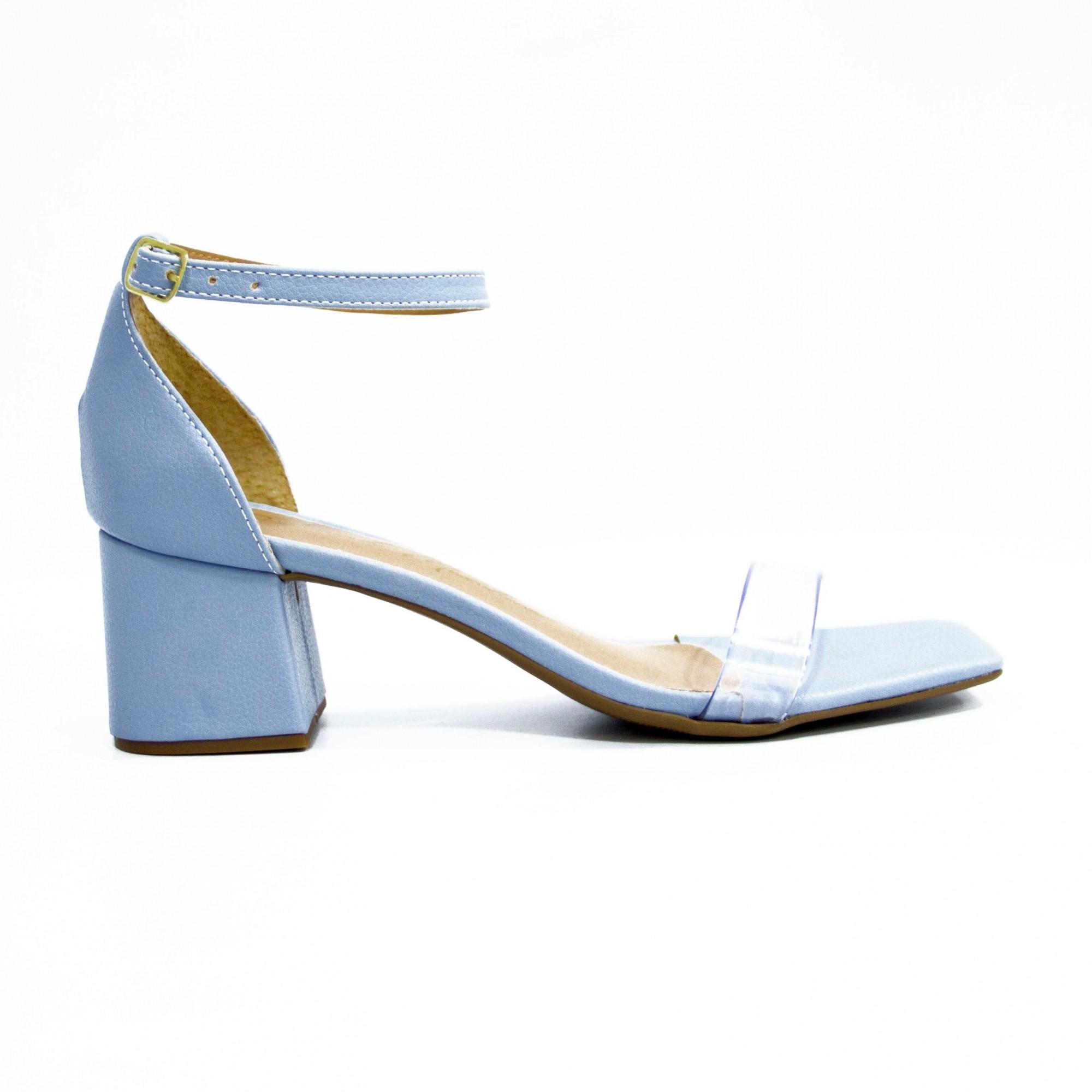 Sandália Maju Azul Bebe by Deborah Munhoz