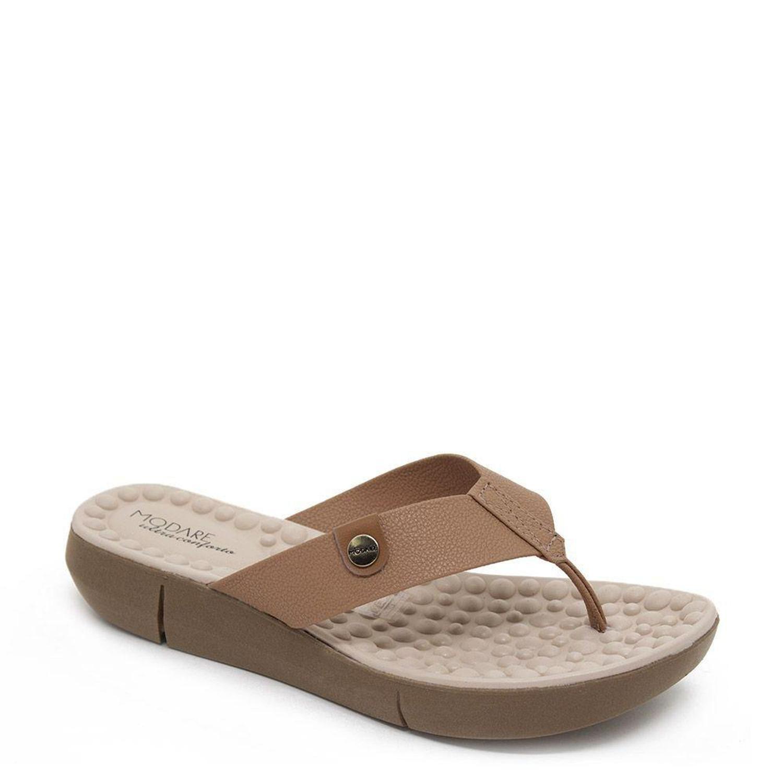 Tamanco Flat Form Nude Modare 7142.106
