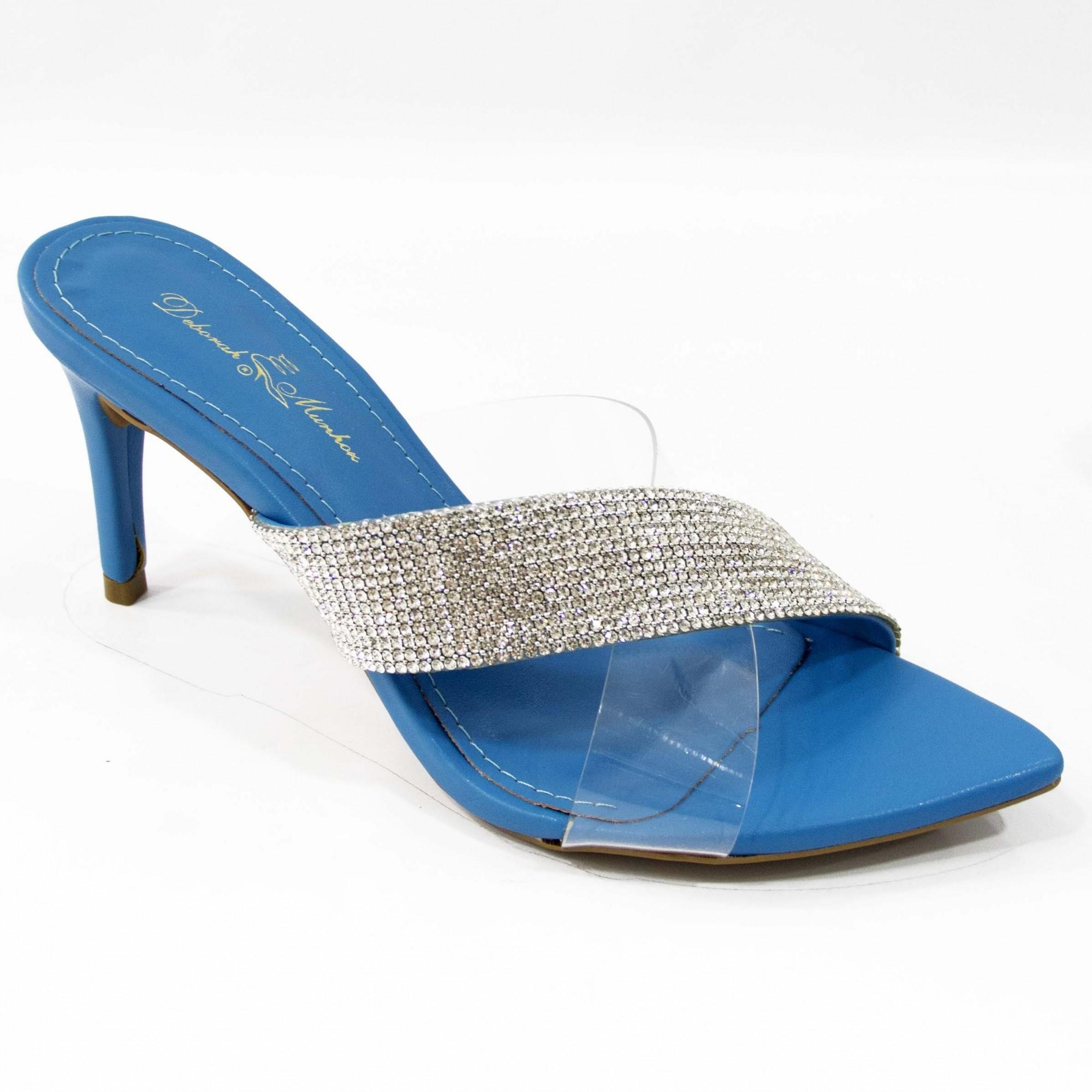 Tamanco Lola Azul by Deborah Munhoz