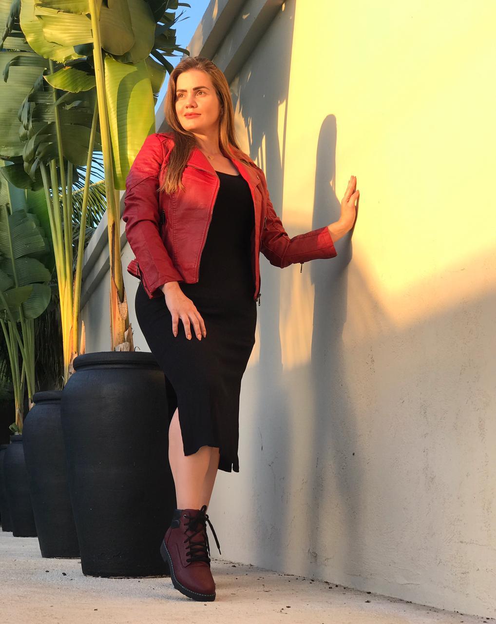 Vestido Isabela Preto Deborah Munhoz