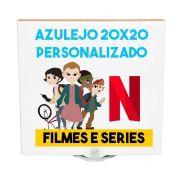 Azulejo 20x20 Tema de Filmes