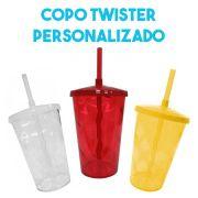 Copo Twister 500ml (gravação de um lado)