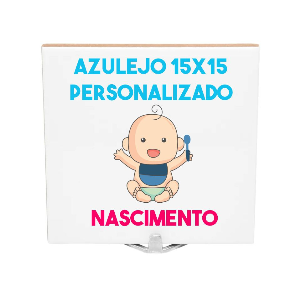 Azulejo 15x15 Nascimento
