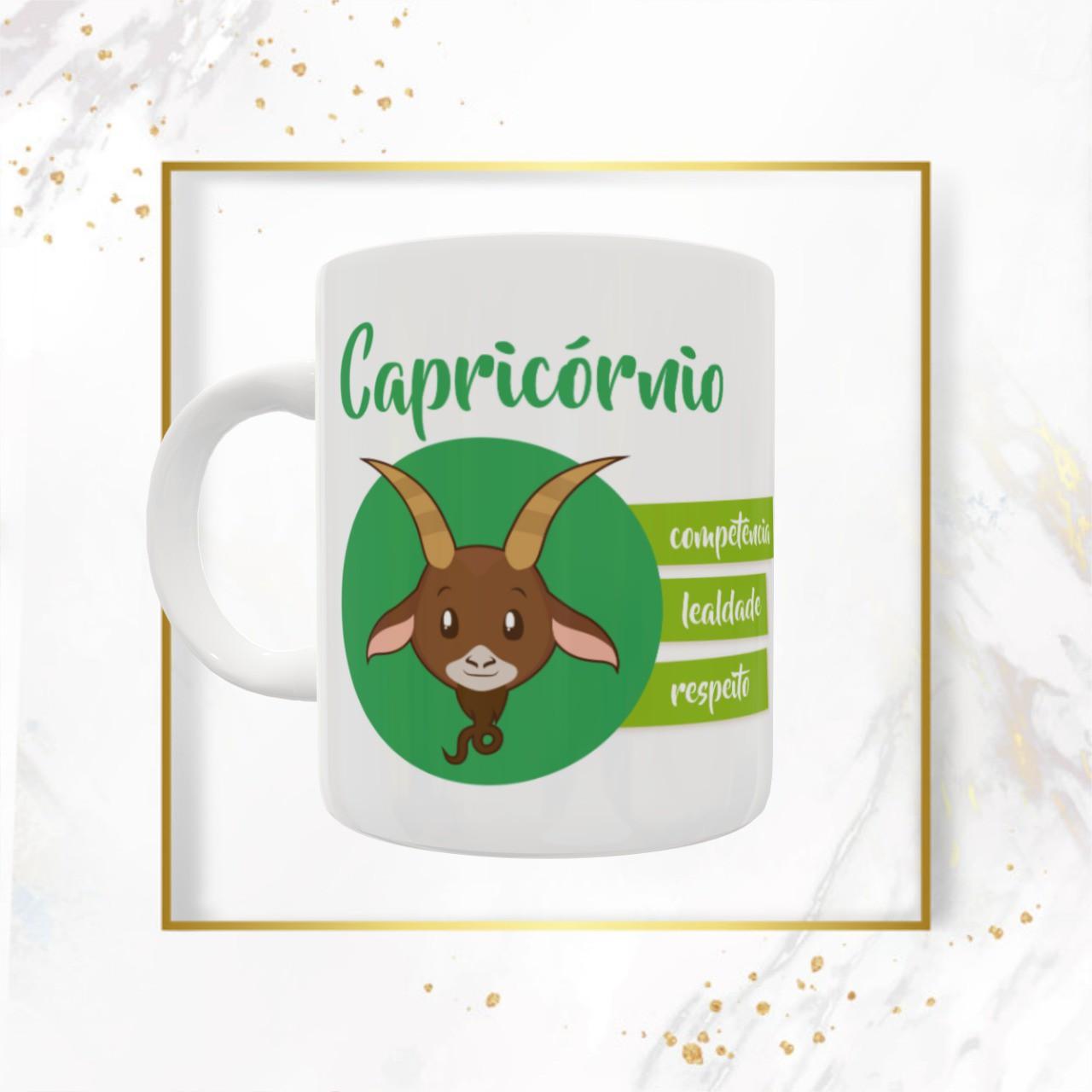 Caneca Signos - Capricórnio