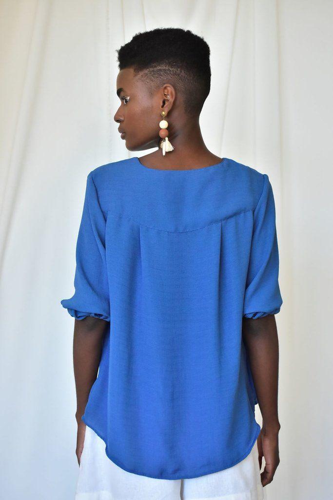 Blusa - Bata Azul