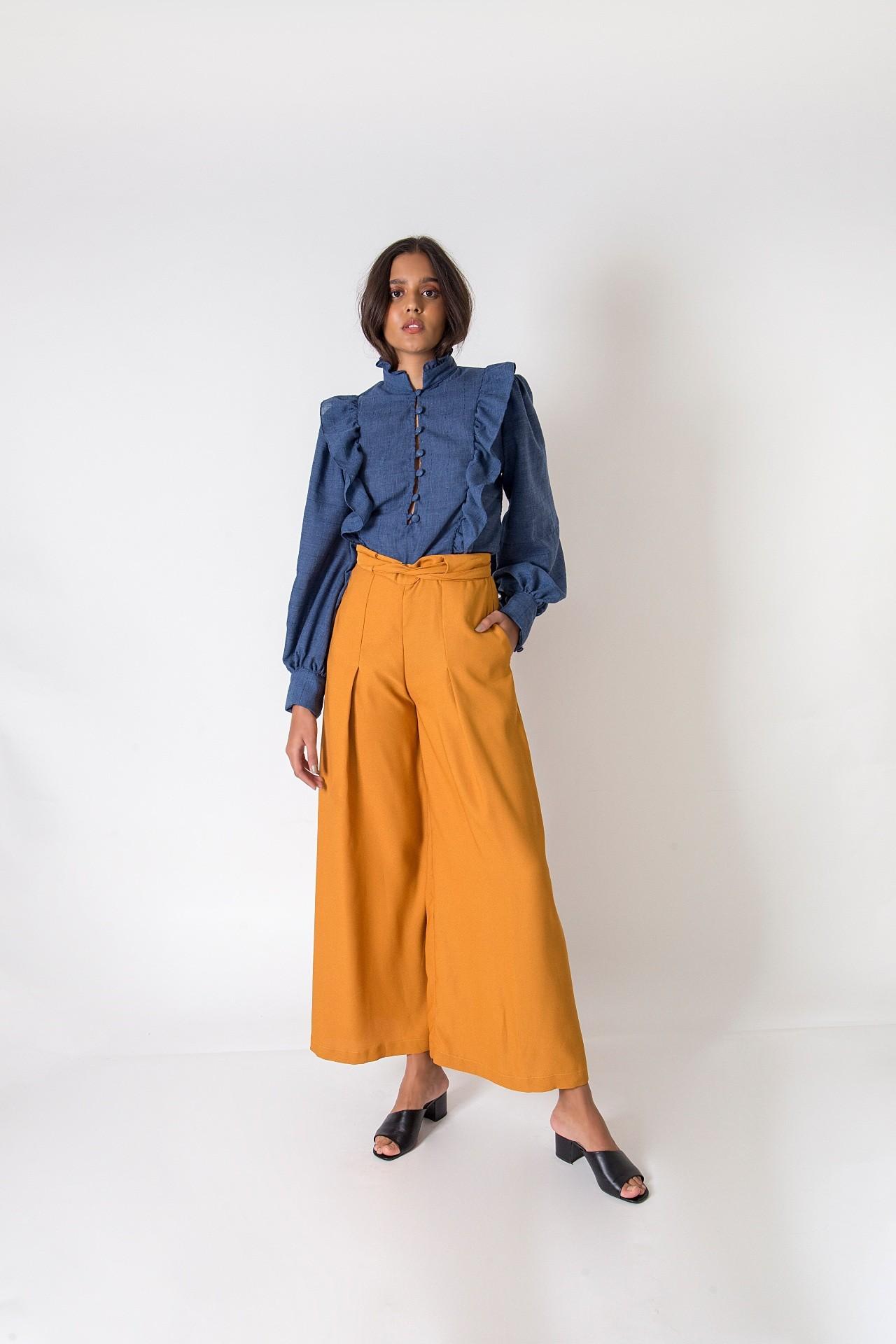 Blusa Melissa - Azul