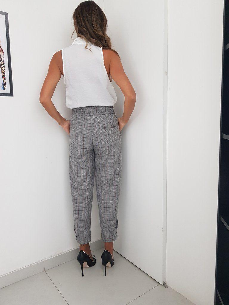 Calça Lorena - Xadrez
