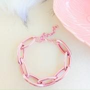 Pulseira de elos pink - PU6096P