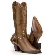 Bota Capelli Country 3061 Café Feminino
