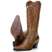 Bota Capelli Country 3061T Escamada Feminino