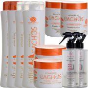 Kit S'amontté 02und Shampoo+Condicionador+Máscara+Ativador de Cachos+Reconstrutor 911 - Ativação de Cachos