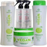 Kit S'amontté 02und Shampoo+Condicionador+Máscara+Reconstrutor 911 - Selecione a fragrância