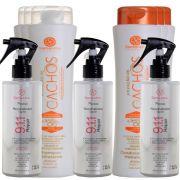 Kit S'amontté 03und Shampoo + Condicionado + Reconstrutor 911 - Selecione a fragrância