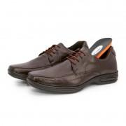 Sapato Masculino BR2 Social Comfort 451 Marrom