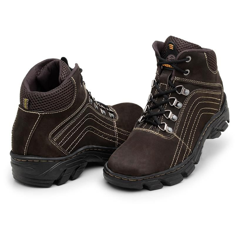 Bota Adventure Macshoes Nobuck 234 Marrom
