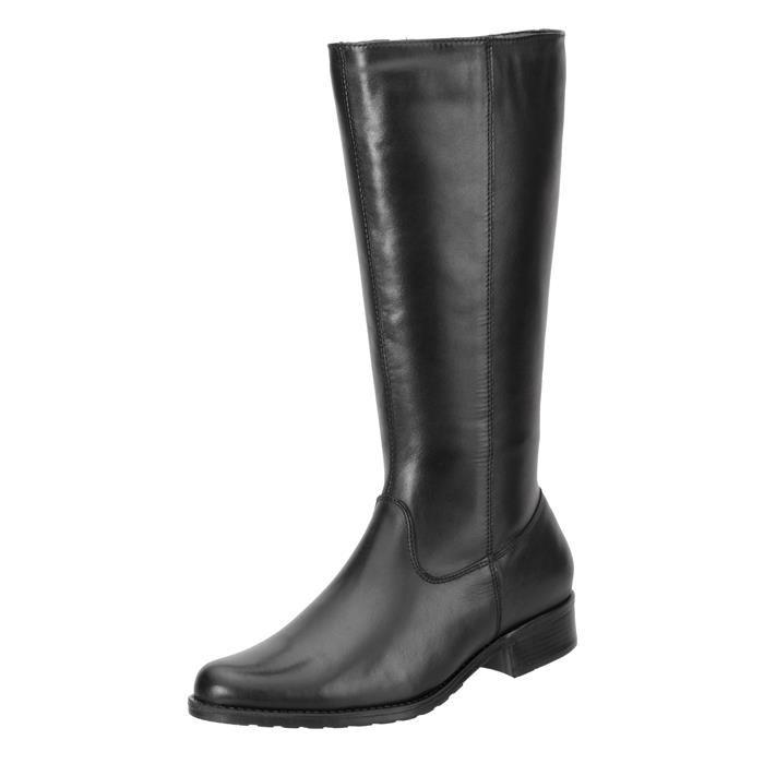Bota Encinas Leather Montaria Simples Preta