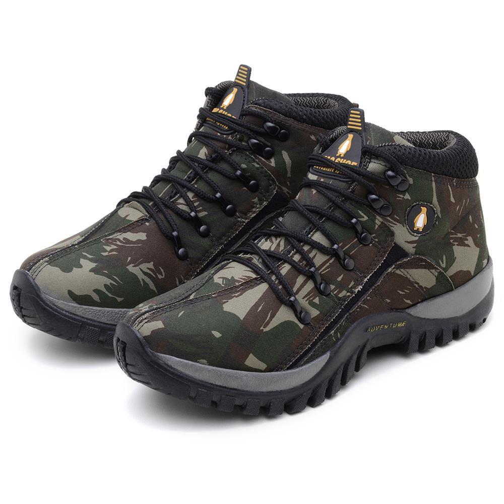 Bota MacShoes Adventure Trail 218 Verde Militar
