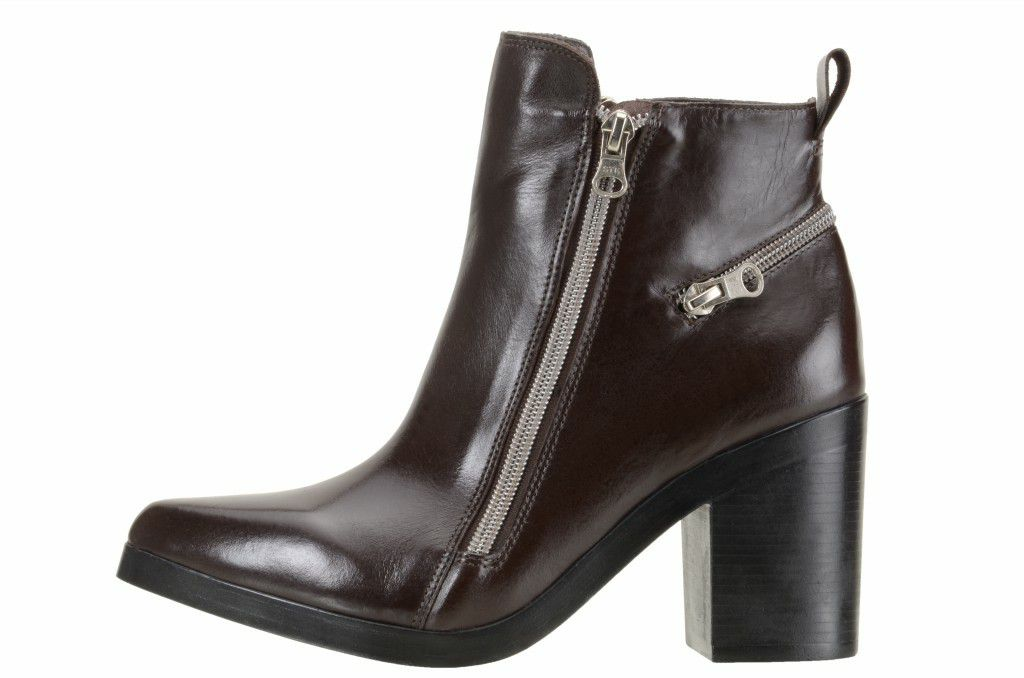 Bota Media Zipper 90016 Café
