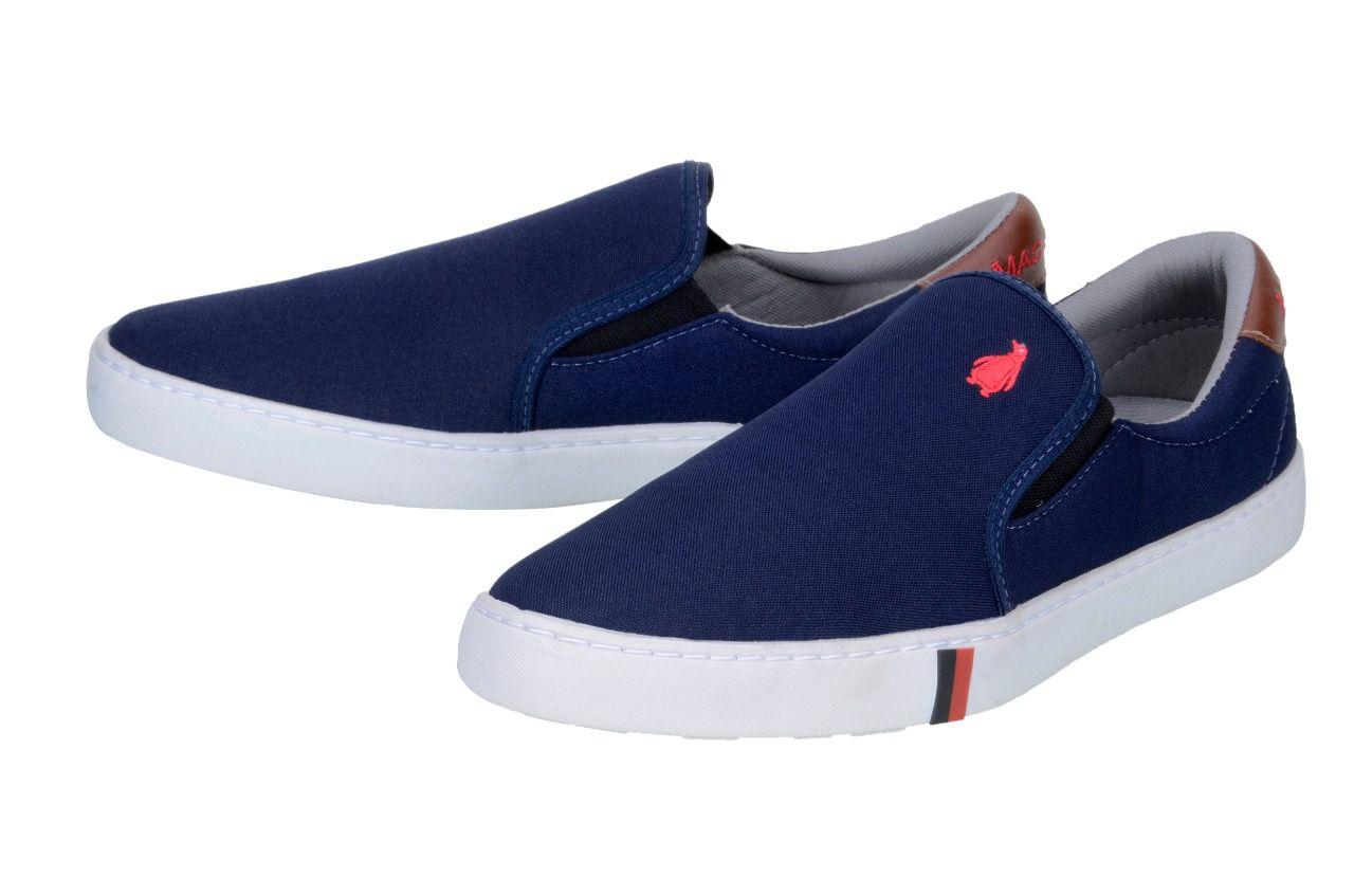 Sapatênis Casual MacShoes 1010 Azul