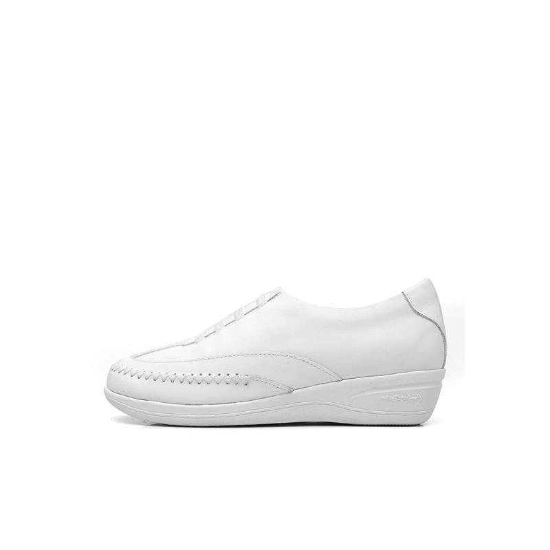Sapato Anabela Mager 087 Branco