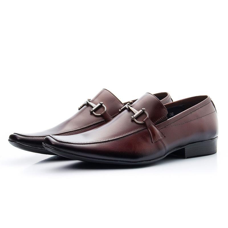 Sapato Casual Bigioni Masculino 404 Café