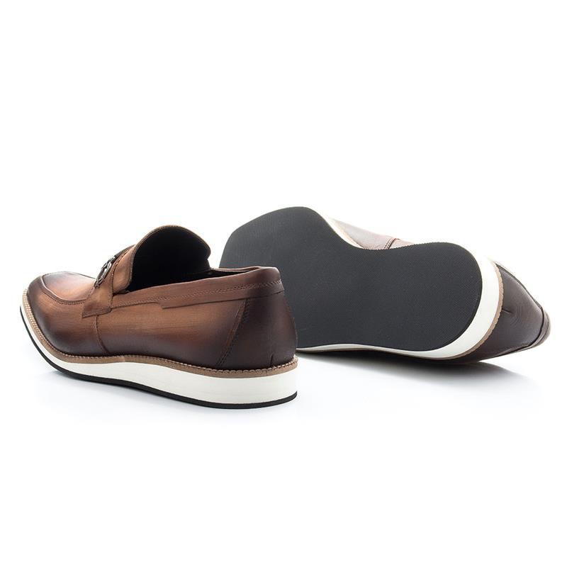 Sapato Oxford Bigioni Esporte Fino 524 Whisky