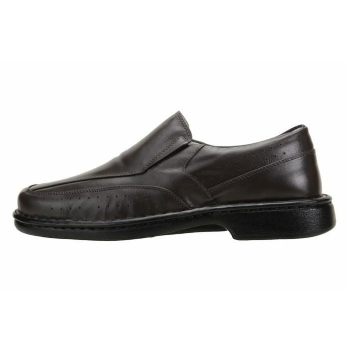 Sapato Social ASA 1751 Marrom Liso