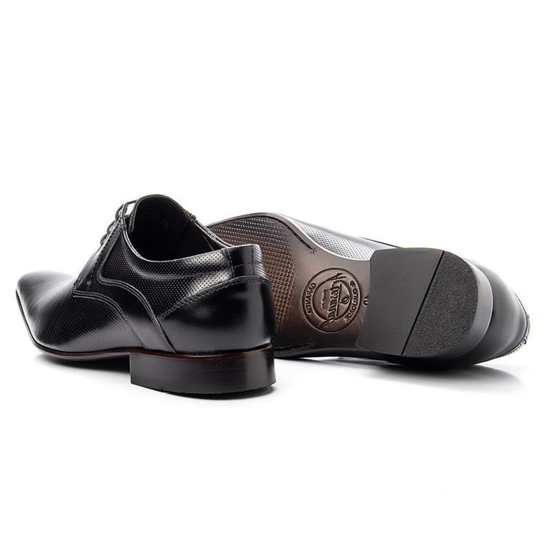 Sapato Social Bigioni 379 Preto Microfuros