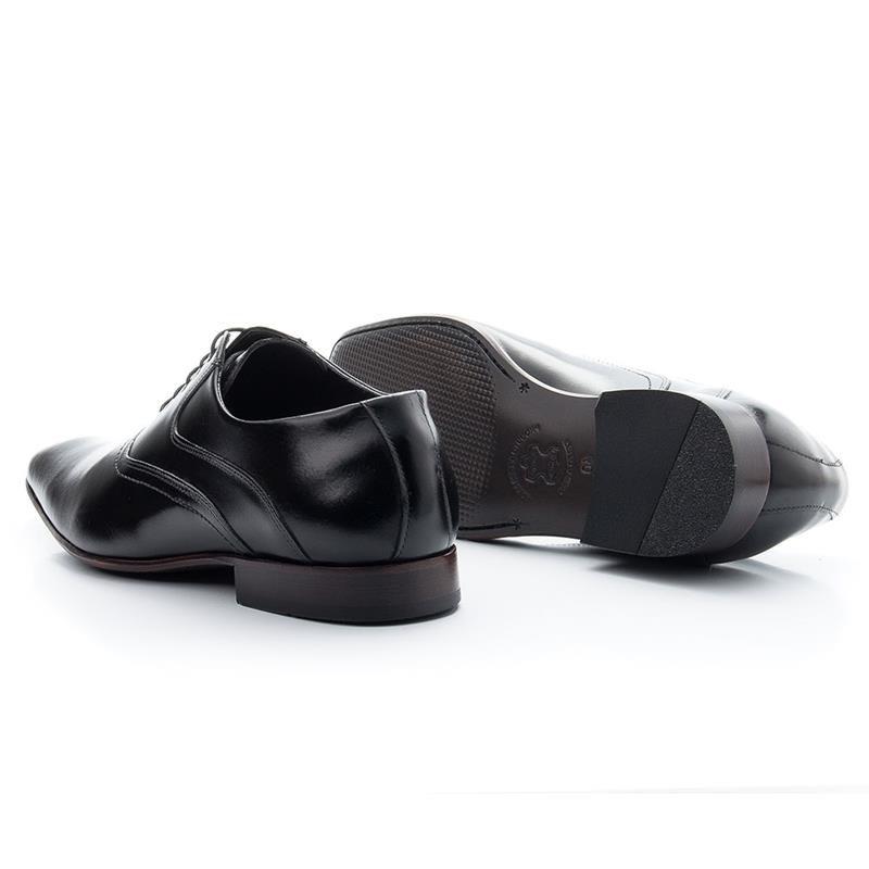 Sapato Social Bigioni Com Cadarço 340 Preto