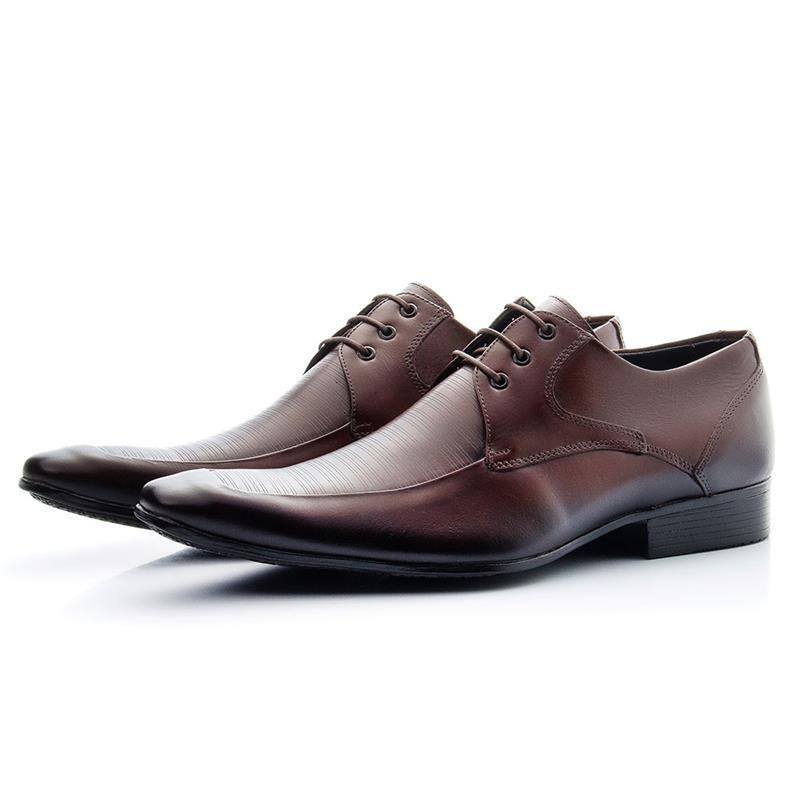 Sapato Social Bigioni Com Cadarço 363 Mouro