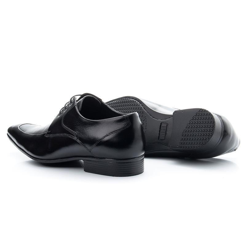 Sapato Social Bigioni Com Cadarço 363 Preto