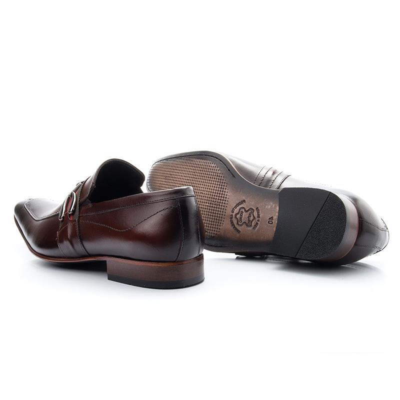 Sapato Social Bigioni Solado de Couro 312 Mouro