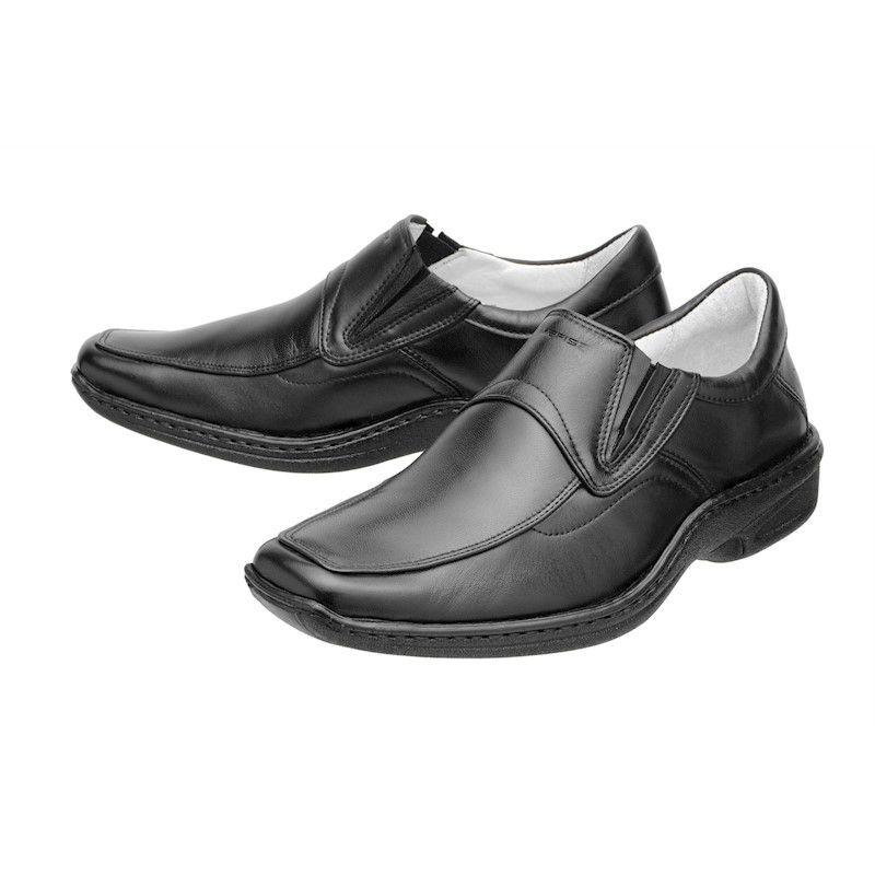 Sapato Social Mafisa Conforto Preto