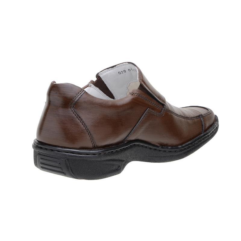Sapato Social Mafisa Conforto Tabaco