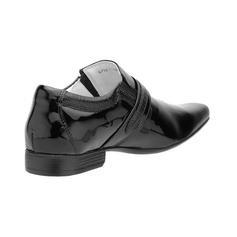 Sapato Social Mafisa Preto Verniz