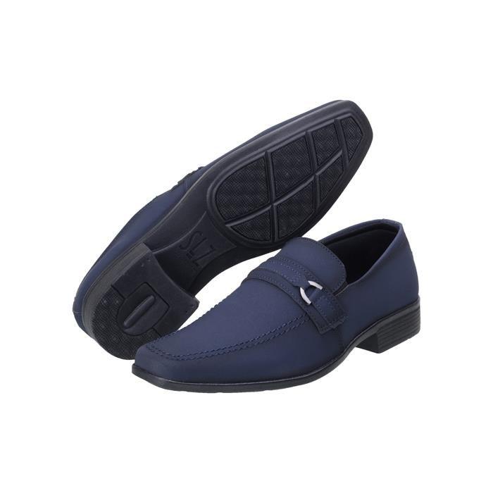Sapato Social San Lorenzo 1103 Azul Marinho