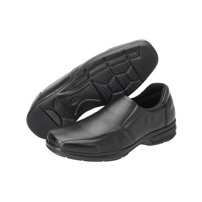 Sapato Social SLZ Sem Cadarço 5030 Preto