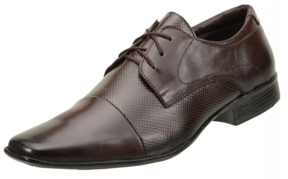 Sapato Social Vegetalle Soft Couro 7572 Marrom